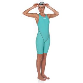 arena Powerskin St 2.0 Short Leg Open Full Body Suit Dame aquamarine